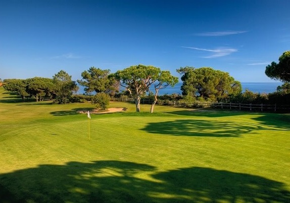 Golf course at Pine Cliffs Resort, Algarve, Portugal