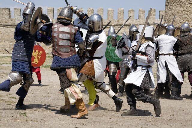 Silves medieval festival, Portugal