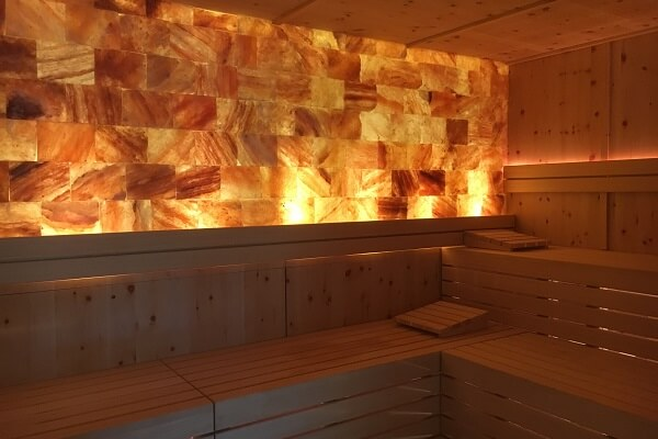 Sauna at the Serenity Spa, Algarve