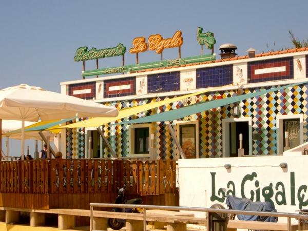 La Cigale restaurant, Olhos d'Água, Portugal