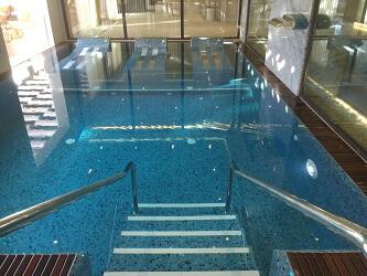 Pool at Serenity Spa