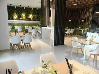 Zest restaurant, Pine Cliffs resort, Algarve