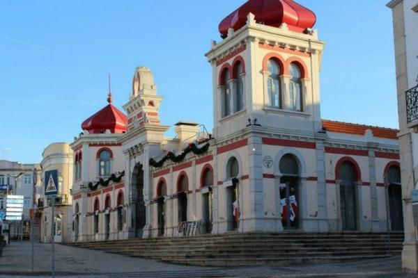 Loule market in Portugal