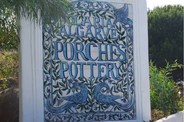Porches pottery shop in Portugal