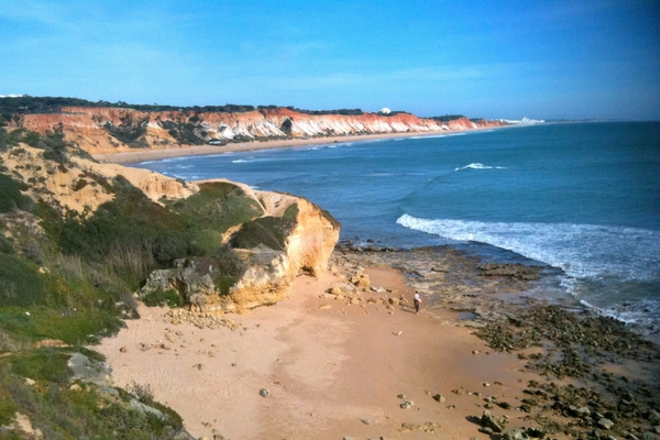 Falésia Beach, Algarve