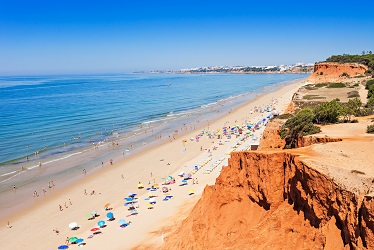 Falesia beach, Algarve